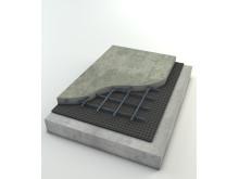 StoCretec Golvmetod 7008 - Avjämning på luftspaltbildande golv