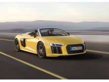 Audi R8 Spyder - front