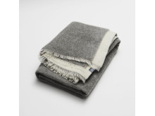 double woven wool throw