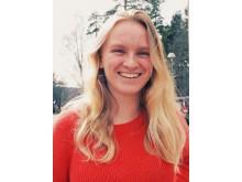 Hanna Barkegren, stipendiat 2018 i Kungens 70-årsfond