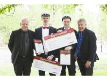 Stolta Stipendiater på Luleå gymnasieskola