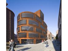 Skiss ny Arkitekturskola, KTH, Stockholm