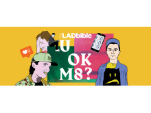 "CALM are supporting the launch of TheLADbible's ""UOKM8?"" campaign"