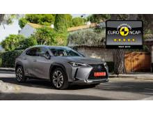 Lexus UX EuroNCAP 5 stars 02 16x9