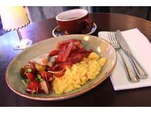 Grodans äggröra med bacon