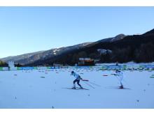 Sofie Elebro sexa i Universiadens första skidlopp