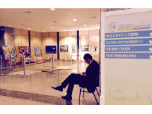 This week at the Global Forum for Migration and Development in Istanbul. Art to inspire world leaders.
