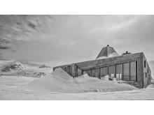 Rabot  turisthytte, Okstindan  Nordland,  2014, Jarmund/Vigsnæs AS Arkitekter MNAL