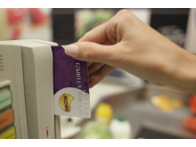 Nectar card being swiped