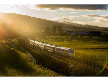 Azuma maiden run to Scottish Highlands