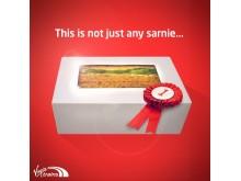 Virgin Trains' sandwich is not just any sandwich; it's Sandwich of the Year