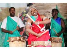 Burundiska trummor