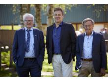 Tre generationer VD i Peab Asfalt