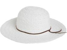 Hvit strand hatt