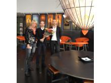 Kosta Boda Art Hotel gratuleras till Stora Turismpriset 2012