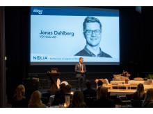 Jonas Dahlberg, vd på Nolia AB, öppnade Nolia Ledarskap.,