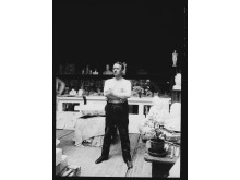 Gustav Vigeland (i atelieret) / Vigelandjubileet (hovedpersonen)