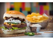 Juicy Vegan Burger-7