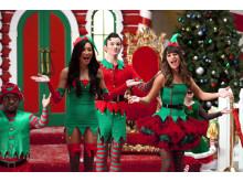 Glee's julavsnitt sänds julafton och juldagen, samt som minimaraton 27 dec 15.10 i Kanal 11.
