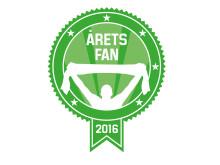 Årets fan 2016 logga