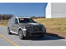 Preprodusert versjon av BMW X7