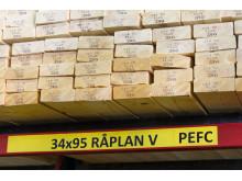 PEFC-certifierat byggmaterial