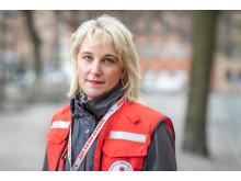 Ylva Jonsson Strömberg, Svenska Röda Korsets krisberedskapschef.