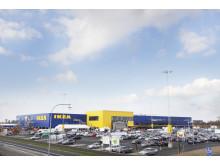 Nya IKEA-varuhuset i Malmö på stadig Veidekke-grund