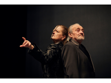 Faust am Goetheanum Probe mit Barbara Stuten und Urs Bihler_Lucia Hunziker