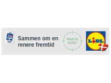 Samarbejdet mellem Waste Hunt og Lidl er en del af Lidls plastik- og affaldsstrategi