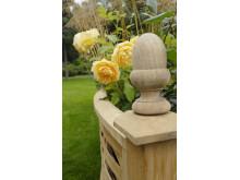 Vackra detaljer på planteringslådor
