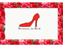 Den landsomfattande kampanjen Woman in Red pågår under mars månad för kvinnors hälsa.
