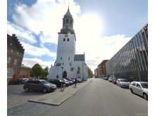 Budolfi Kirken - gadefoto