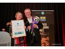 Prisutdelning - Hederspris till Lily Bollinger Award