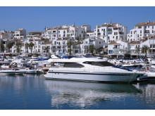 Miljöbild Spanien - Puerto Banus, Spaniens mest kända plats