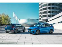 BMW X1 xDrive25e ja BMW X2 xDrive25e