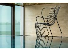 Kaskad armchair, design Björn Dahlström