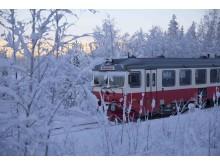 Motorvagn vinter