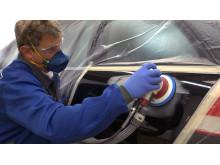 Plastifilm-suojamuovi auton malaaukseen - Käyttö 2