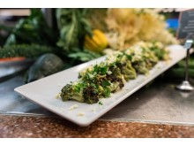 Rostad broccoli i nobisdressing