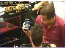 Azhar shopping using Facetime