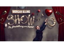 """Morgan Alling show  """"En föreställning om kärlek"""""""