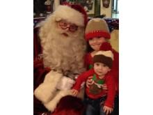 Santa at a station LR
