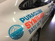 Puraglobe har fälttestat återvunnen spillolja som racingolja i Porsche på Nurnbergring i ett antal år med godkänt resultat.