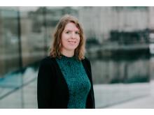 Stine Sørlie, nesteleder i Norsk Komponistforening. Foto. Renate Madsen, 2019.