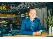 BookBeatin toimitusjohtaja Niclas Sandin