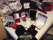 APPEAL: Jewellery stolen in aggravated burglary