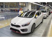 Kia har byggt 2 miljoner bilar i Europa