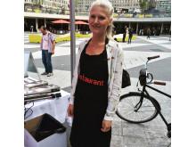 Ellen Gellerbrant på Pestaurant i Stockholm