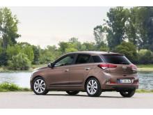Nye Hyundai i20 (skrått bakfra venstre)